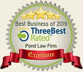 Best Business of 2019 | Three best rated | Pond Law Firm